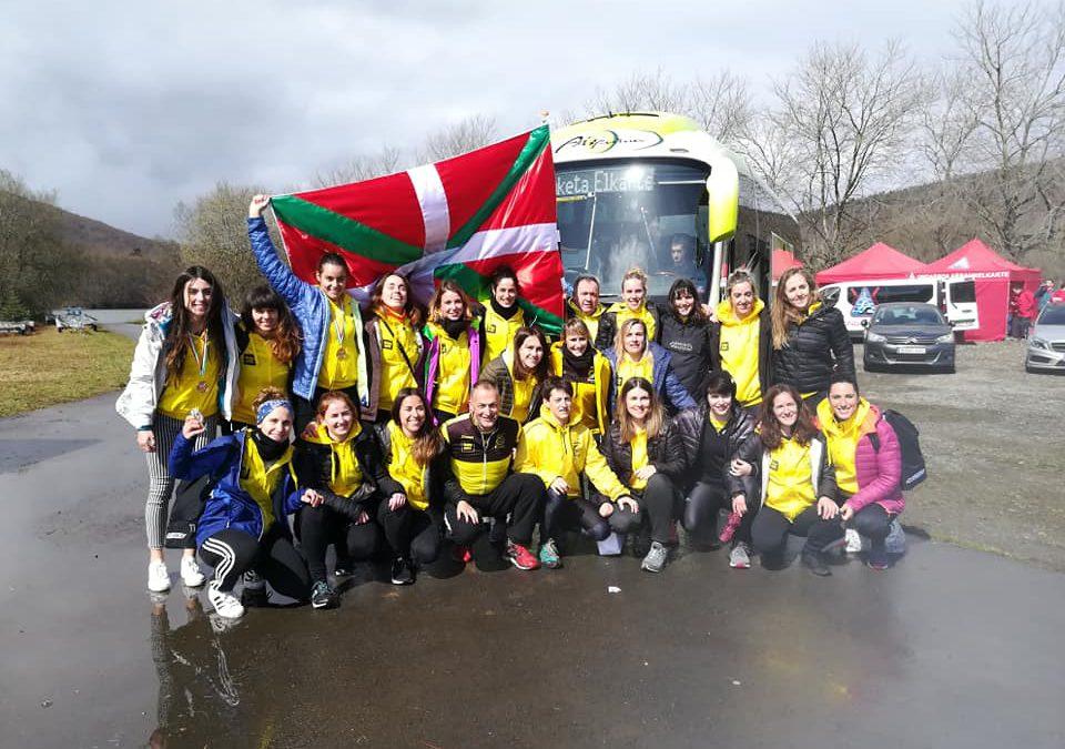 Orio BabyautoFemenino Campeonas de Euskadi de Traineras en distancia larga!
