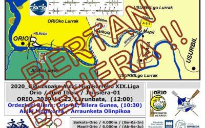 Gipuzkoako Aulki Mugikorreko XIX.Liga 1.go Jardunaldia BERTAN BEHERA !!