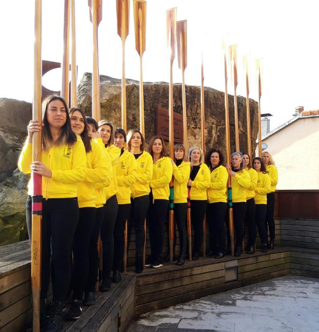 Orio Arraunketa Elkartea presenta '14 apostoles amarillos'