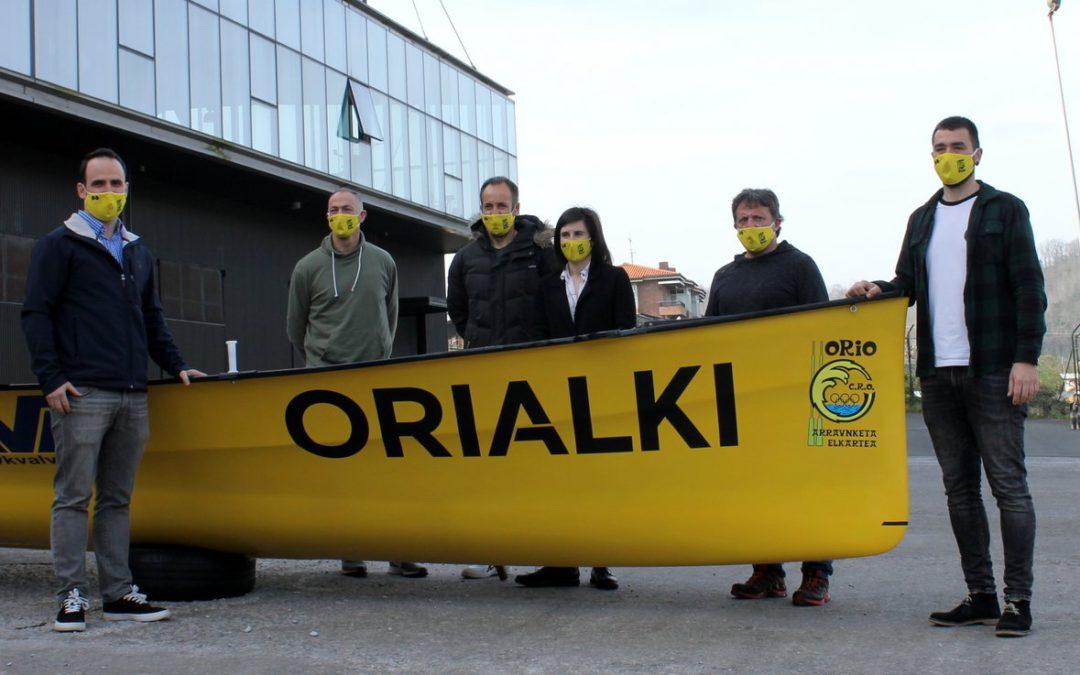 ORIALKI nuevo patrocinador de Orio AE