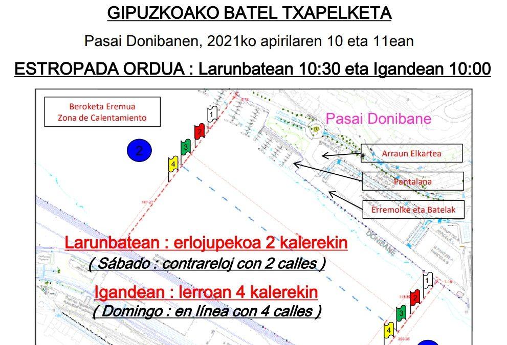 Bateles – Liga Gipuzkoana y Campeonato de Gipuzkoa